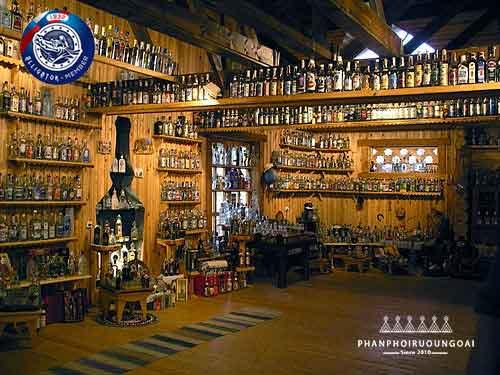 Bảo tàng Rượu Vodka ở Sankt-Peterburg, Nga