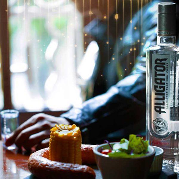 Sang trọng lịch lãm với Rượu Vodka Cá Sấu