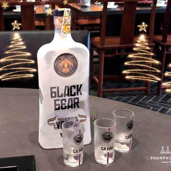 Rượu Vodka Gấu Đen Món quà đặc biệt cho các đối tác làm ăn