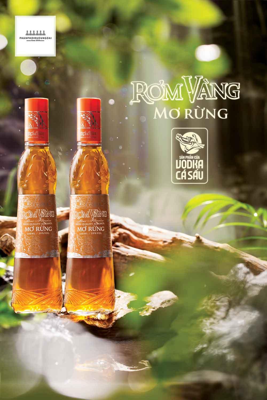 Rượu mơ rừng rơm vàng sản phẩm mới hướng tới giới trẻ