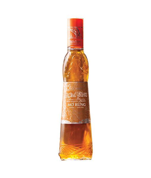 Rượu Mơ rừng rơm vàng vị ngọt của trái mơ