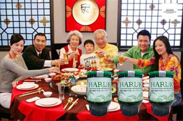 Rượu Mơ Nhật Bản Haruka cũng là sản phẩm tốt cho các bữa tiệc tân gia hoặc liên hoan bạn bè