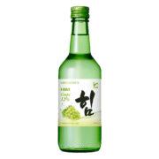 Rượu Soju HIM Grape với hương vị nho xanh